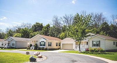 Model Homes in Hidden Creek 55+ Community, Holland, Michigan